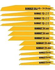 DEWALT DW4892 Reciprocating Saw Blade Set with Case, 12-Piece