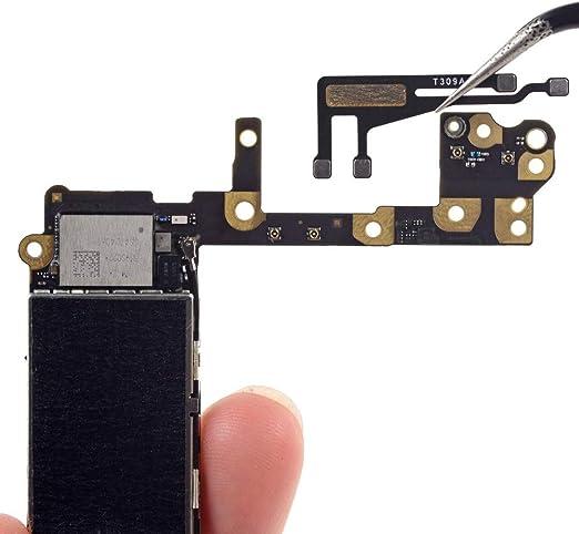 MMOBIEL WiFi Antena compatible con iPhone 6 Módulo Flex Cable con Base Autoadhesivo INKL 2 x Destornillador