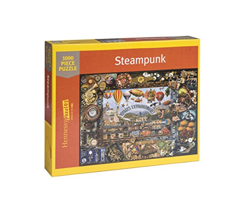 Hennessy Puzzles Steampunk 1000 Piece Jigsaw. Lois Sutton Artist. Fall Colors 4
