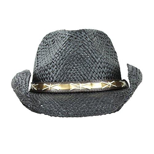 Black Straw Cowboy Hats For Men – Jerusalem House