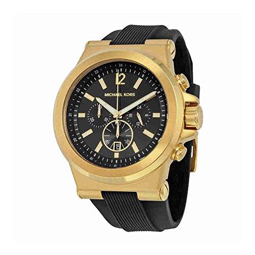 Michael Kors Men's Dylan Black Watch (Michael Kors Man Watch)