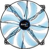 AeroCool Silent Master 200mm Blue LED Cooling Fan EN55642