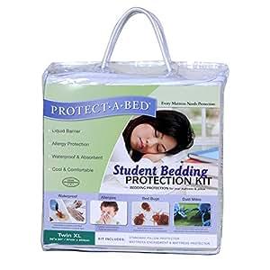 Amazon Com Student Bedding Protection Kit Twin Xl Home
