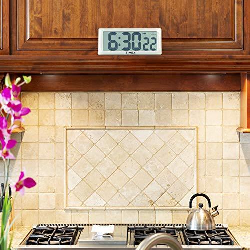 "Timex 75071TA2 13.5"" Large Digital Clock with 4"