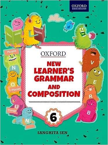 Buy New Learner's Grammar & Composition Class 6 Book Online
