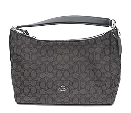 Coach East/West Celeste Convertible Hobo in Outline Signature by Coach