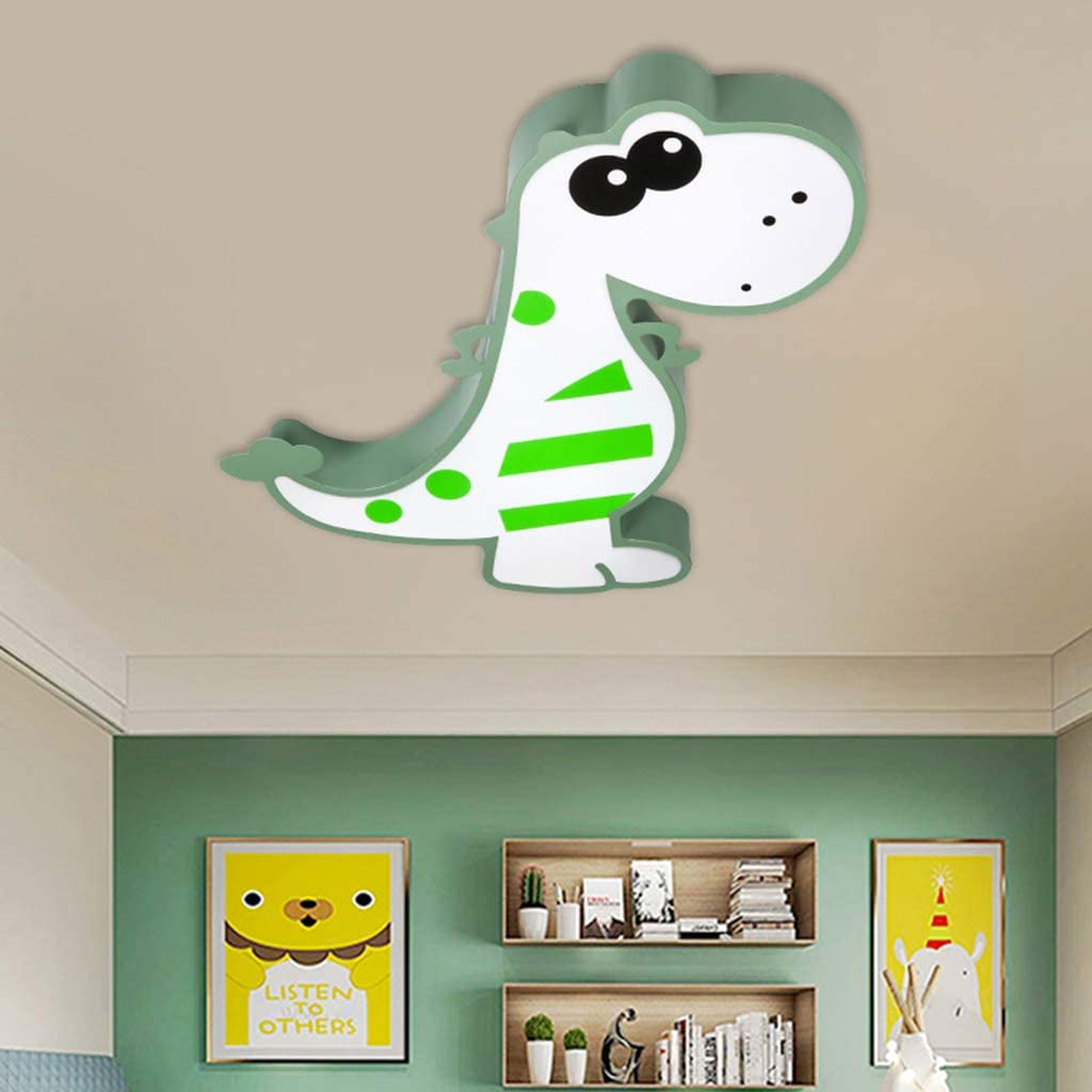 LED Light Fixtures Ceiling, Bedroom for Kids Cartoon Dinosaur