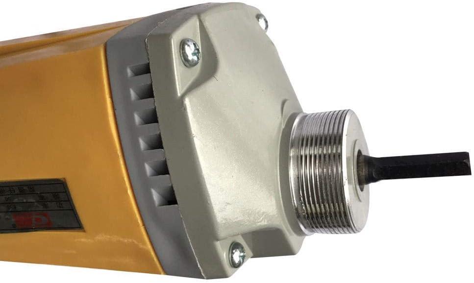 35#//800W//2m,Verde Homgrace Vibrador de Hormig/ón Mezclador El/éctrico Industrial con Manguera Acoplador de la EU Conector