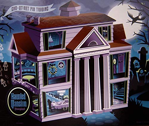 (Disneyland Pin Board - Haunted Mansion Collection 2009 Brand New/Unused)