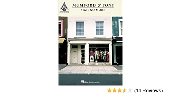 Amazon Mumford Sons Sigh No More Songbook Guitar Recorded