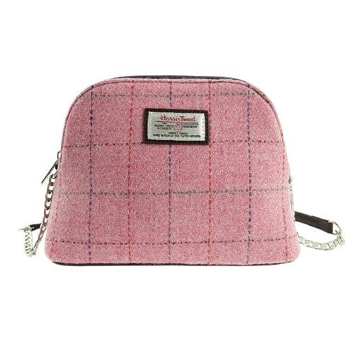 38342af61 Glen Appin Harris Tweed Small Cross-body Handbag LB1120 Leven Colour ...