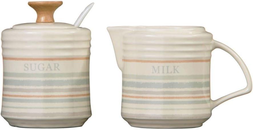 Premier Housewares Coast Milk and Sugar Set Stoneware