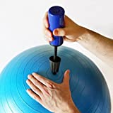 K&A Company Pump Hand Ball Portable 10 Inch Air Mini Inflator