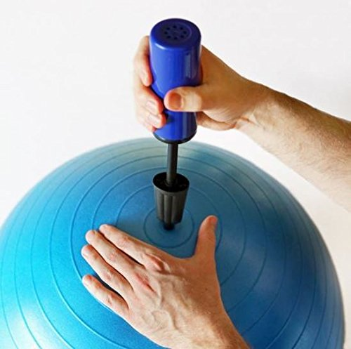 K&A Company Pump Hand Ball Portable 10 Inch Air Mini Inflator by K&A Company