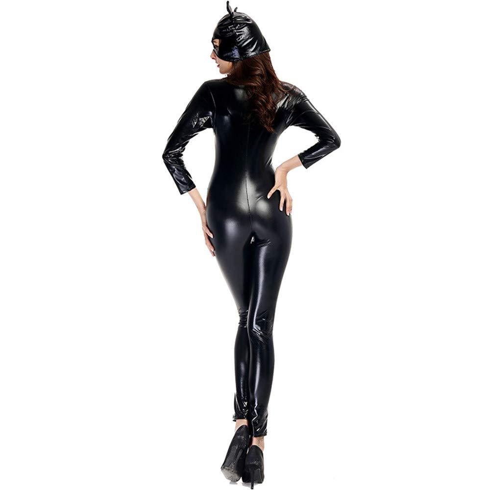 KTYX KTYX KTYX Sexy Single Trikot Und Katze Ohr Hut Cosplay Overall Halloween Kostüm Halloween Kleider (größe : XXL) 930db9