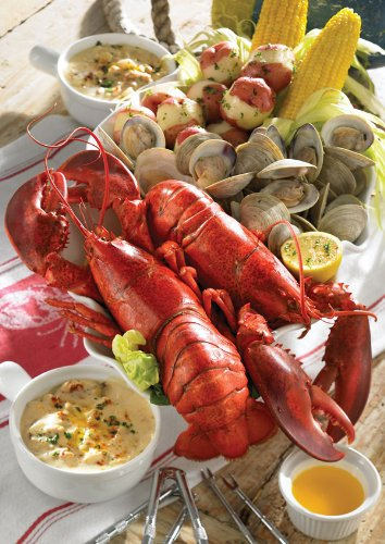 Lobster Gram Msgr2c Maine Shore Clambake Gram Dinner For Two