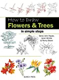 img - for How to Draw Flowers & Trees: in simple steps book / textbook / text book