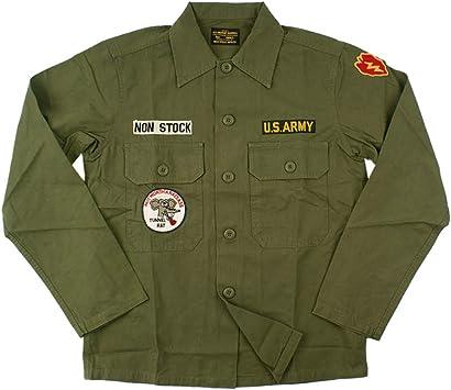 YWJHY Camisa de Uniforme Militar de la Guerra de Vietnam Hombres Verde Retro,Verde,S: Amazon.es: Deportes y aire libre