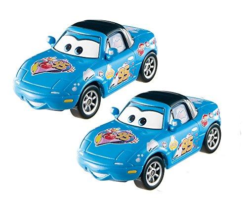 Mia Car (Disney/Pixar Cars Dinoco Mia and Dinoco Tia Vehicle 2-pack)