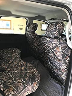 Durafit Seat Covers Seat Covers Made in Camo Endura for 2013-2018 Dodge Ram Front and Back Seat Set. DG29 Pampas C
