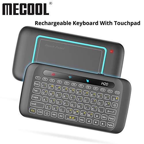 Calvas - Mini teclado con mando a distancia universal (2,4 G ...