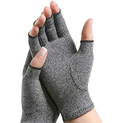 Pair Compression Gloves Adjustable Wrist Brace Cotton Elastic Open Fingers Hand Arthritis Joint Pain Relief Wrist Wraps Wristbands for Events Estimated Price £13.69 - £13.87 -