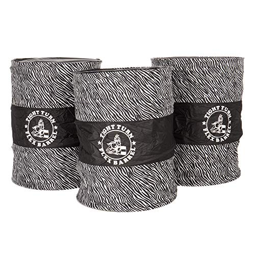 American Heritage Equine Tight Turn Flex Barrels Zebra ()