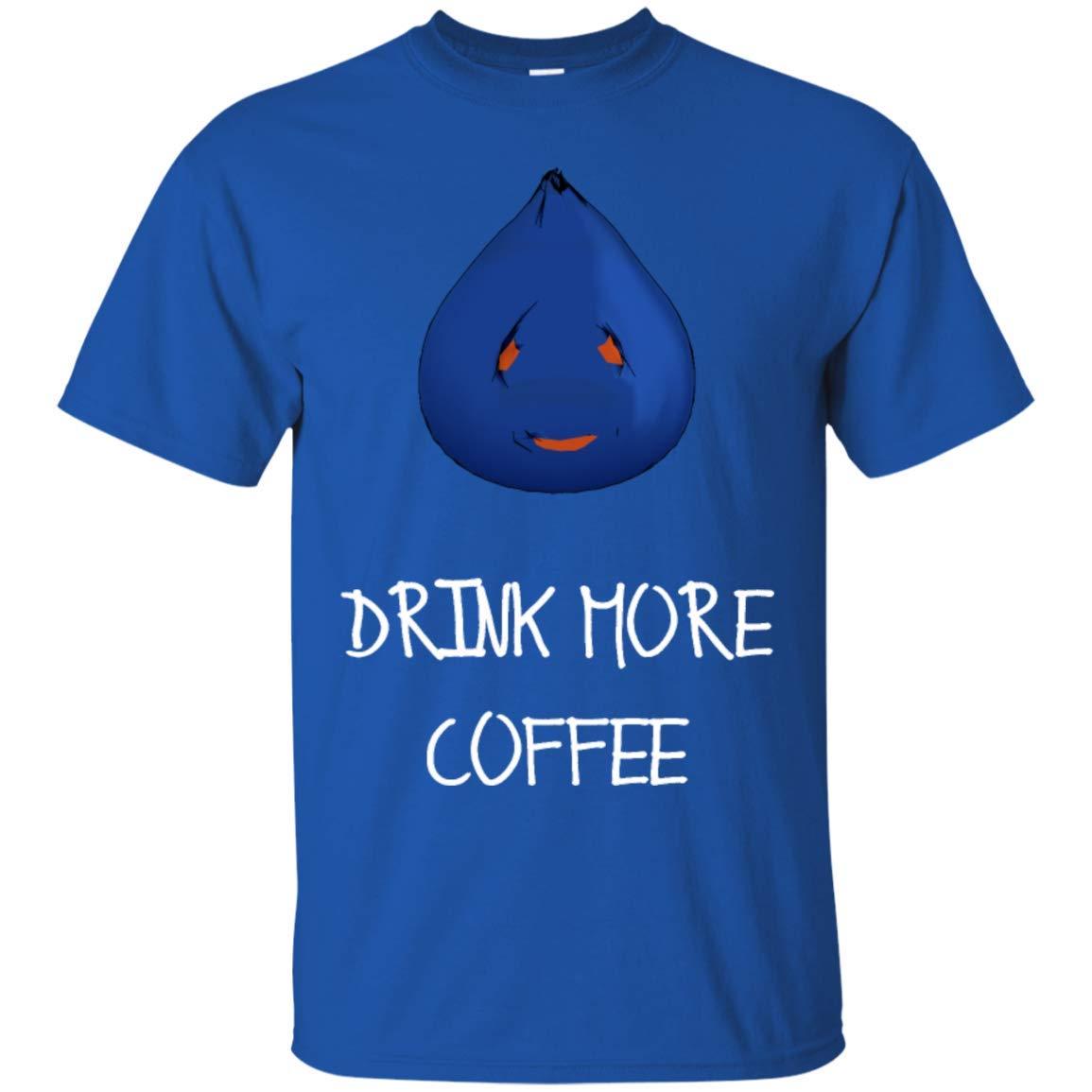 Drink More Coffee Funny Coffee Shirt