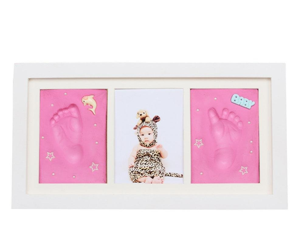 LINAG Baby Hand Fußabdruck Frame Bilderrahmen Print Rahmen Keepsake ...