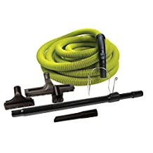 KIT CENTRAL HOSE 50' LIME W TOOL AND WAND