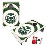 Colorado State Rams Baggo Bean Bag Toss Cornhole Game Vortex Design