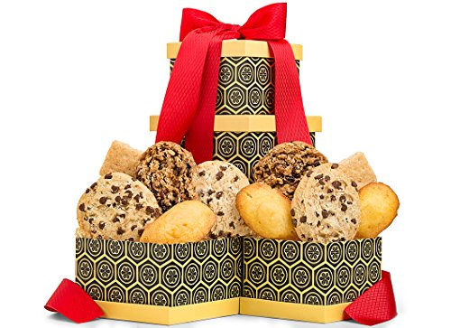 GiftTree Double Delight Gourmet Cookie Duo Gift Box | Perfect Sweets Gift for Birthdays, Holidays, Thank You or Any Occasion by GiftTree