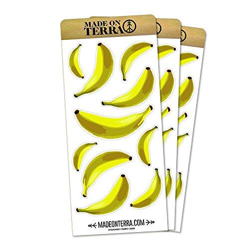 - Banana Bonanza Removable Matte Sticker Sheets Set