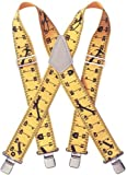 CLC Work Gear 110RUL 2'' Ruler Heavy Duty Elastic Suspenders