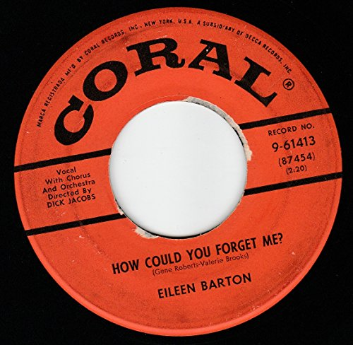 "45vinylrecord How Could You Forget Me/He Asked Me (7""/45 rpm)"