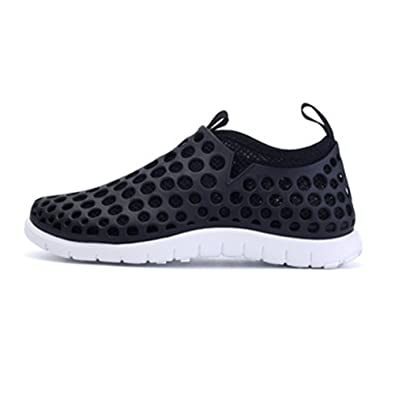 Couples Fashion Mesh Slip Water Shoes Quick Drying Aqua Shoes Breathable Mesh Sneakers Hole Shoes