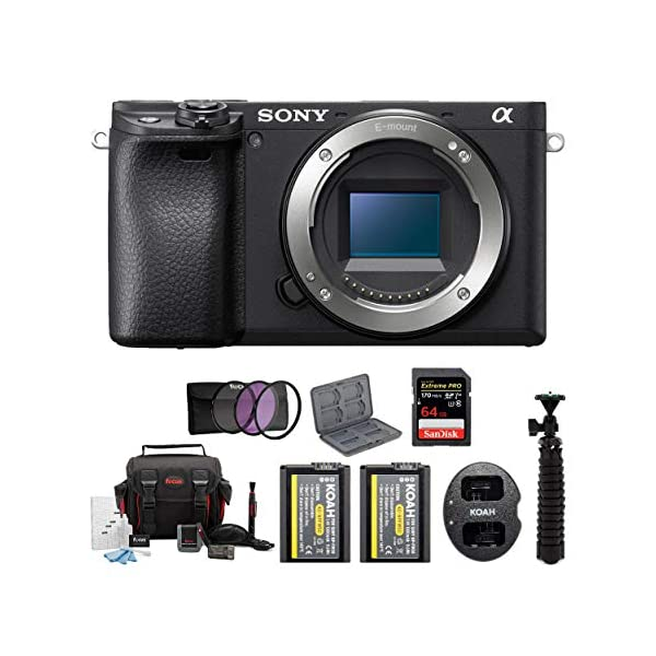 Sony a6400 Mirrorless Digital Camera