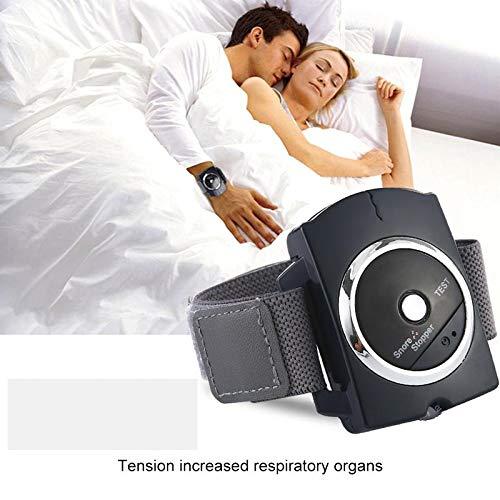 Volwco Stop Snore Solución para Roncar Dejar DeRoncar Pulsera- Correa para Pulsera Anti Ronquidos Anti Snoring Devices to Natural and Comfortable ...