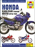 1987-2007 Honda XL 600 650 TransAlp HAYNES REPAIR MANUAL