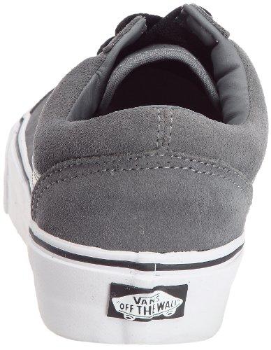 Vans Old Skool VKW66ME - Zapatillas de deporte de ante unisex Gris