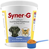 Syner-G Digestive Enzymes Granules – Support Healthy Digestion / Skin Health for Dogs and Cats – 454 g
