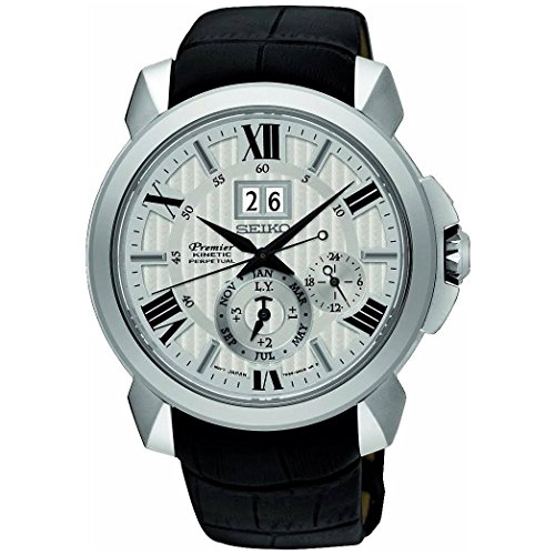 Seiko Perpetual Calendar Watch (Seiko Premier SNP143P1 Watch Perpetual Calendar)
