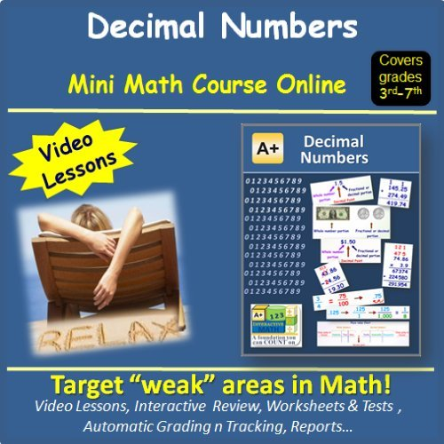 Amazon.com: Learn about Decimal Numbers (covers 3rd to 7th grade ...