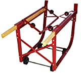 Milwaukee Hand Trucks 40782 55 Gallon Drum Cradle with Wood Handles