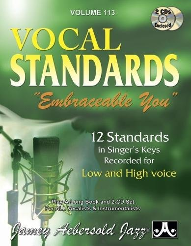 Play-A-Long Series, Vol. 113, Embraceable You - Ballads for All Singers (Book & 2-CD Set) (Jazz Sing-A-Long)