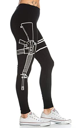 5094898b632a7 High Waisted Tummy Control Leggings in Faux Leather and Cotton (Plus Sizes  S-XXXL