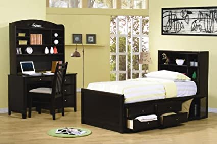 Amazon.com - Phoenix Youth 4PC Full Size Chest Bedroom Set ...