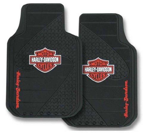 Plasticolor 001384R01 Universal Fit Harley B&S Factory Floor Mat - Ford F150 Harley Davidson Wheels