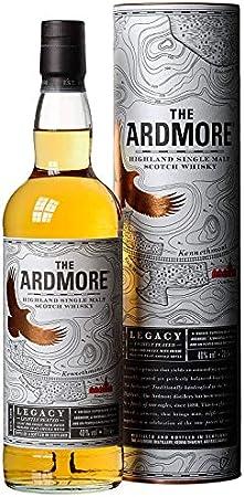 Ardmore Legacy Single Malt Escoces Peated Whisky, 40% - 700 ml