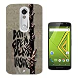 121 - Zombie walking dead hands Don't Open Dead People Design Moto X Play Fashion Trend CASE Gel Rubber Silicone All Edges Protection Case Cover